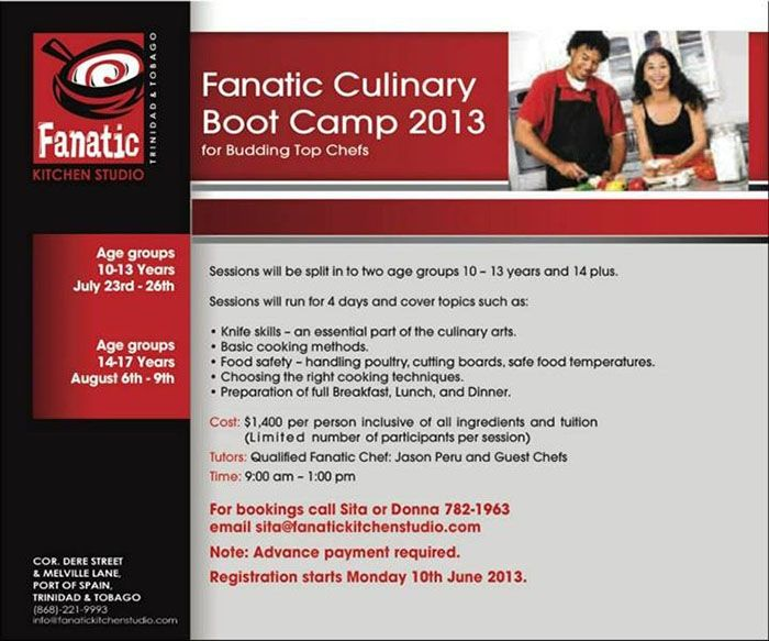 Fanatic Culinary Boot Camp 2013