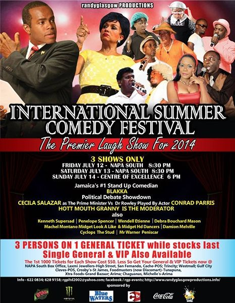 International Summer Comedy Festival 2013
