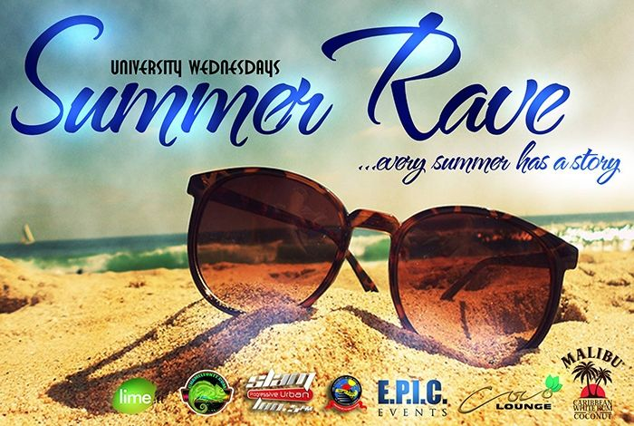 The Launch of Summer Rave University Wednesdays 2013