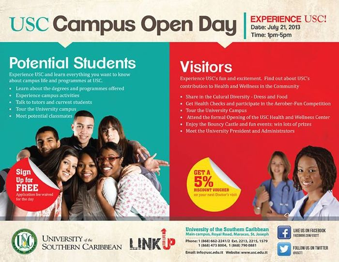 USC Campus Open Day