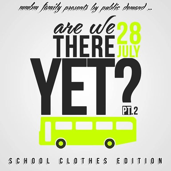Are We There Yet? Part 2: School Clothes Edition