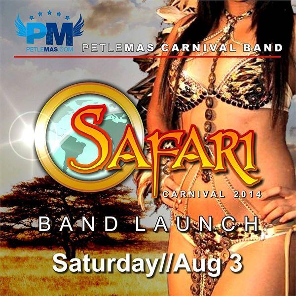 Petlemas Carnival 2014 Band Launch: Safari