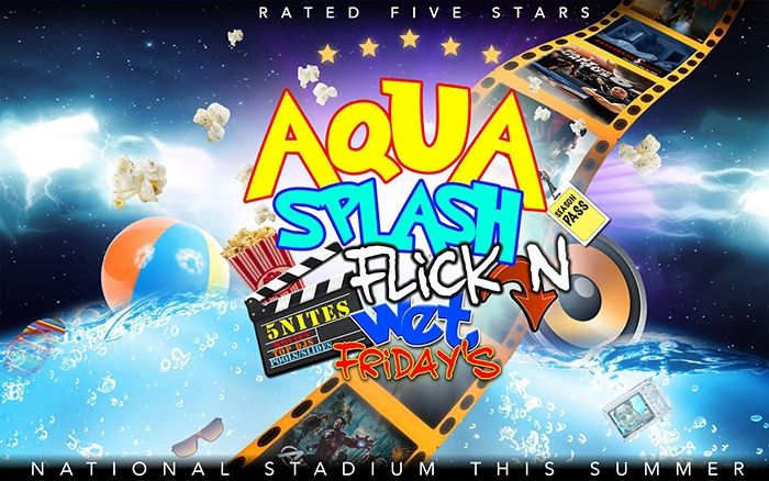 Aqua Splash Flick-N Wet Fridays
