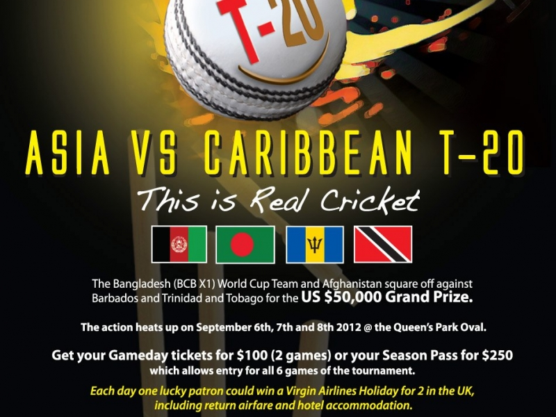 Asia VS Caribbean T-20 Cricket