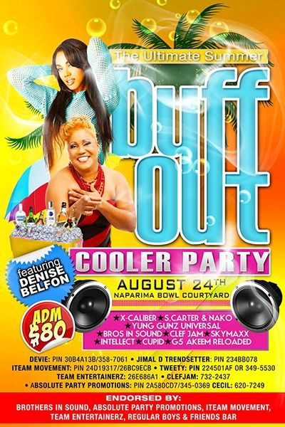 Buff Out: The Ultimate Summer Cooler Party