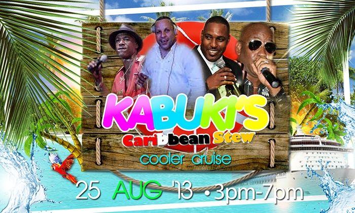 Kabuki's Caribbean Stew Cooler Cruise
