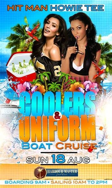 Hit Man Howie Tee Coolers & Uniforms Boat Cruise