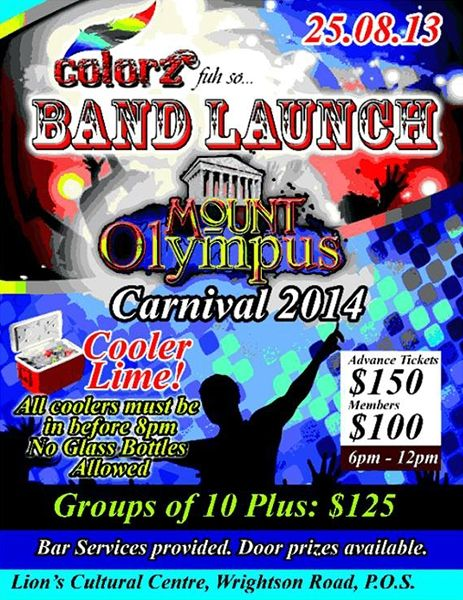 Colorz Fuh So 2014 Band Launch: Mount Olympus