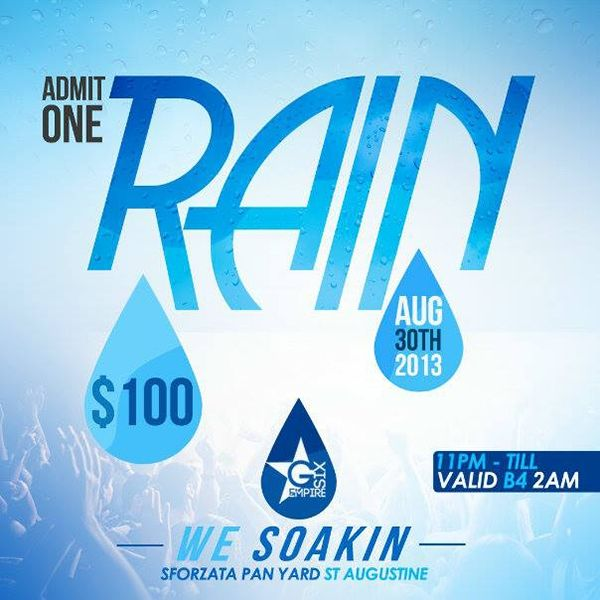 RAIN: We Soakin