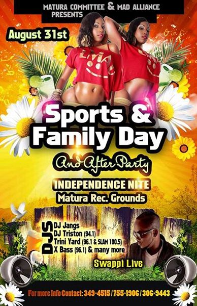 Matura Committee & Mad Alliance Sports & Family Day And After Party