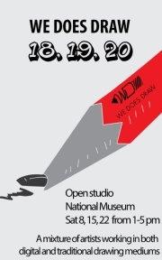We Does Draw: 18. 19. 20. Open Studio