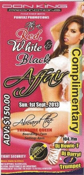 Its A Red, White & Black Affair