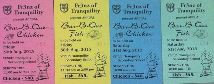 Annual BBQ In Aid Of The School