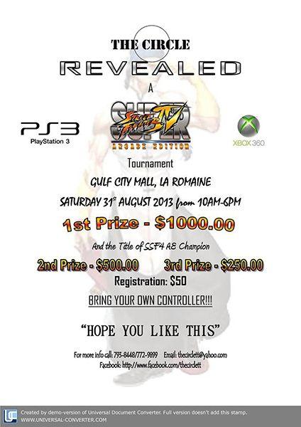 Super Street Fighter 4 Tournament: Arcade Edition