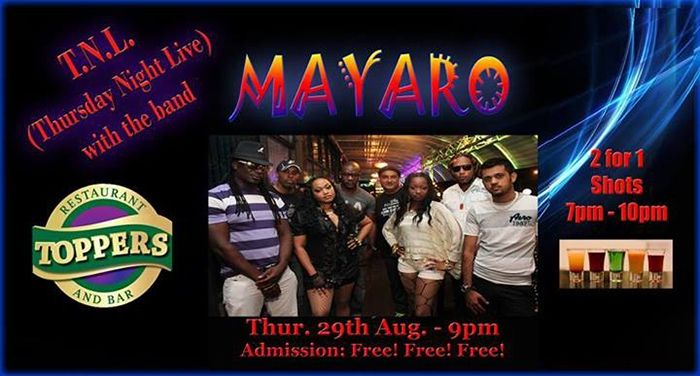 Retro Thursdaze/Thursday Night Live: MAYARO
