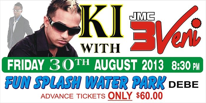 Fun Splash Water Park Poolside Party Featuring K.I. & JMC 3Veni