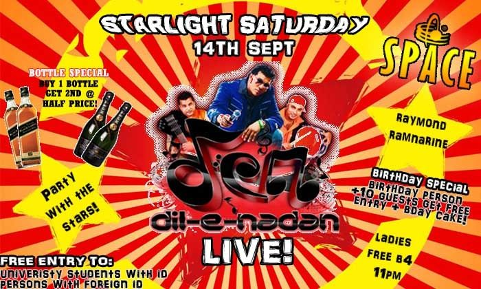 Starlight Saturdays: Dil E Nadan
