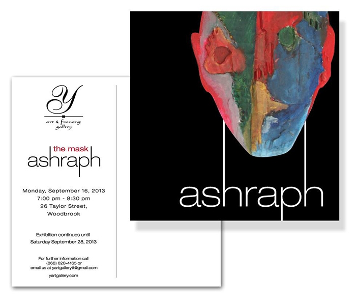 The Mask: An Exhibition by Ashraph Ramsaran