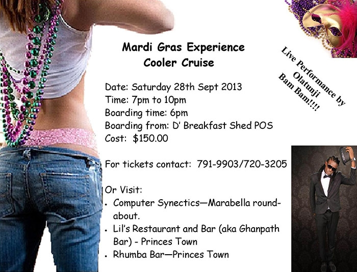 Mardi Gras Experience Cooler Cruise