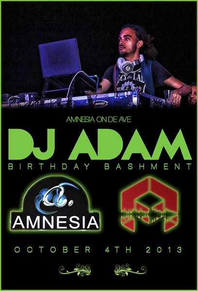 DJ Adam Birthday Bashment ID 6798