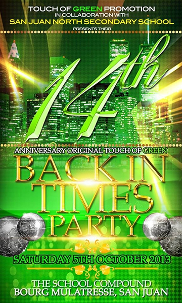 Touch of Green: Back In Times Party