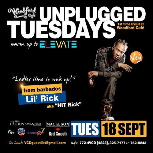 Unplugged Tuesdays! Lil' Rick