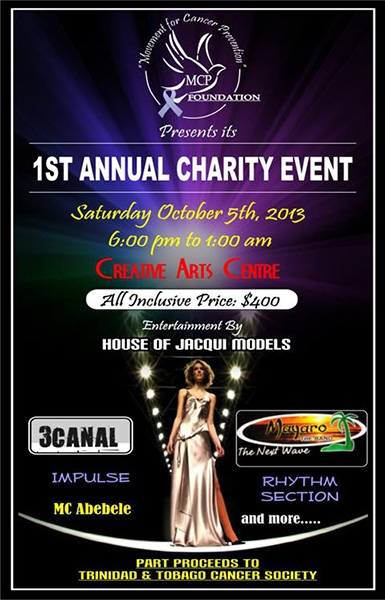 Movement For Cancer Prevention Foundation 1st Annual Charity Event