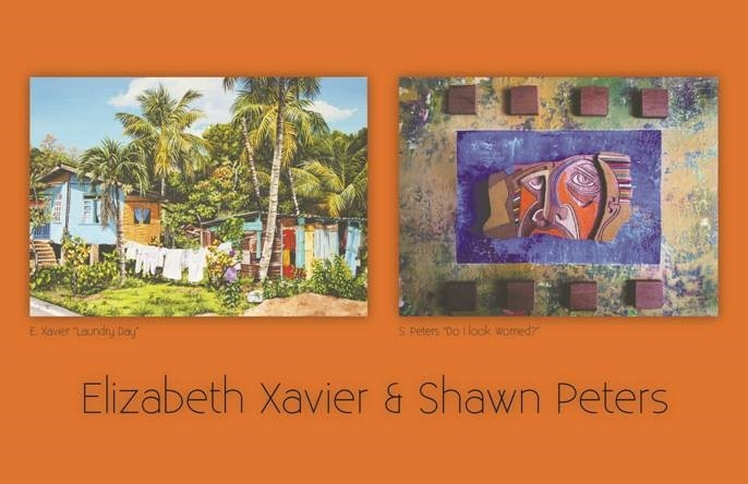Elizabeth Xavier & Shawn Peters at Horizons Art Gallery