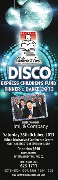 DISCO: Express Children's Fund Dinner and Dance 2013