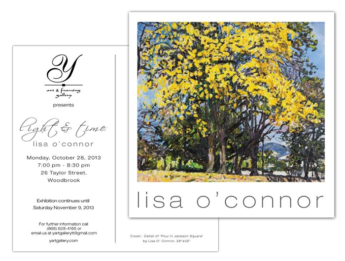 Light & Time: An Exhibition by Lisa O'Connor