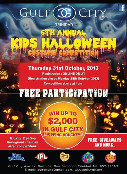 Gulf City Trinidad 6th Annual Kids Halloween Costume Competition