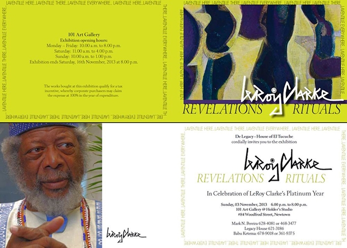 Revelations Rituals: An Exhibition by LeRoy Clarke
