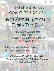 T.T.A.C 16th Annual Sports and Family Fun Day 2012