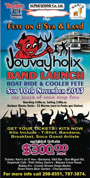 Jouvay-Holix 2014 J'ouvert Band Launch
