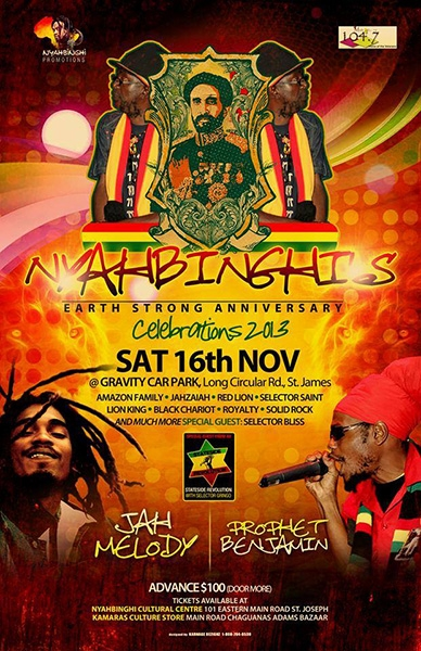 Nyahbinghi's Earth Strong Anniversary
