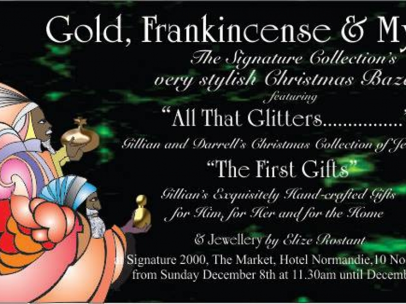 Gold, Frankincense and Myrrh 3.0