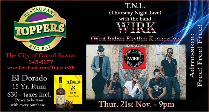 Retro Thursdaze/Thursday Night Live: WIRK