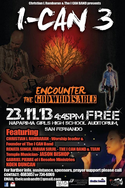 I CAN 2013: Encounter The God Who Is Able