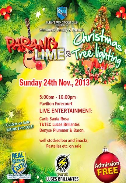 QPCC Parang Lime and Christmas Tree Lighting