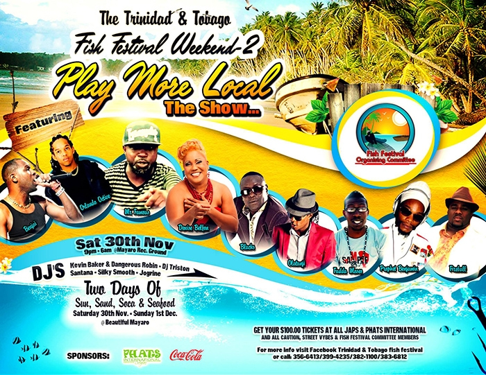 T&T Fish Festival 2013: Play More Local The Show