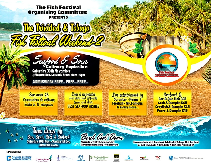 T&T Fish Festival 2013: Seafood and Soca Culinary Explosion