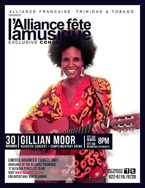 La Fête de la Musique Exclusive Concert Series: Gillian Moor