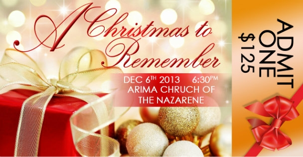 Arima Church Of The Nazarene Annual Christmas Dinner