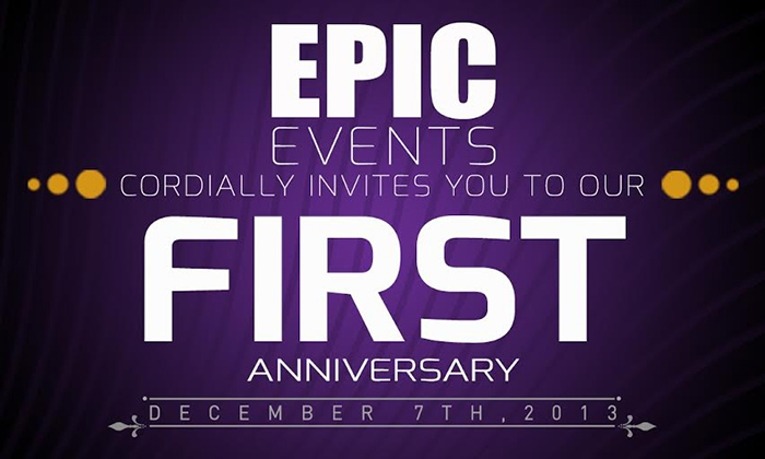 #EPIC - Everyone Parties In Coco Lounge - First Anniversary  Party