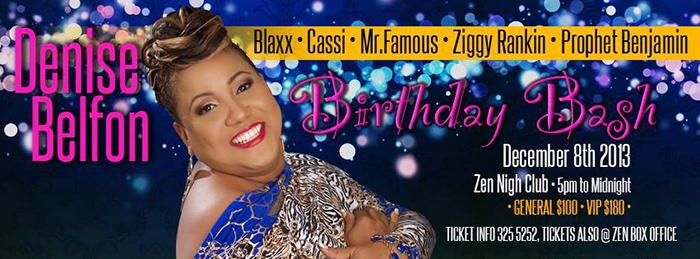 De Wining Queen Birthday Bash