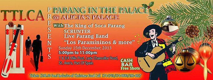 Parang In The Palace