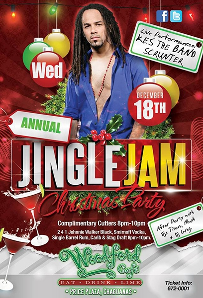 Jingle Jam With Kes The Band