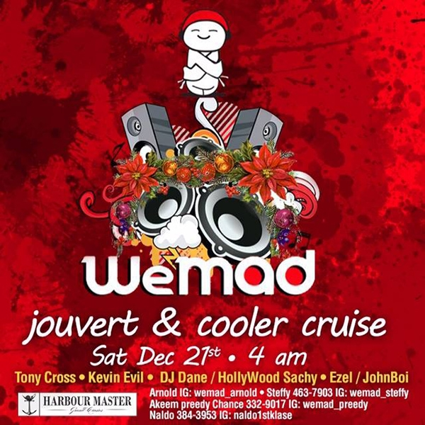 WeMAD Jouvert and Cooler Cruise