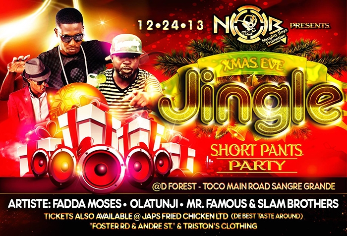 Jingle's Short Pants Party