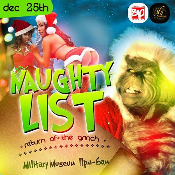 Naughty List... Return Of The Grinch
